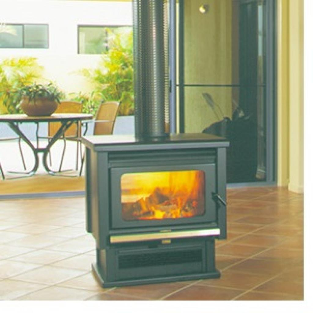 Kemlan Double Sided Freestanding Woodburner Gatmans Mowers